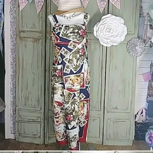 Nanette Lepore posrcard vacation dress